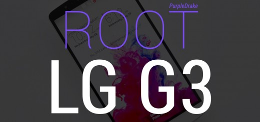 Root LG G3 easily with PurpleDrake Root