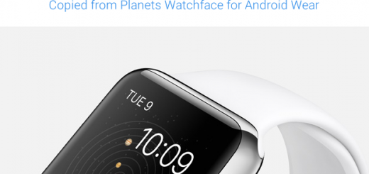 Apple Astronomy Watch face Copied from Planets Watch Face for Android Wear