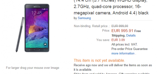 Galaxy Note 4 Price