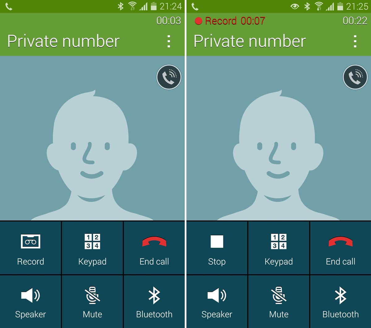 Enable Call Recording Samsung Galaxy S5 Stock Rom