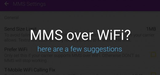 MMS over WiFi on Android