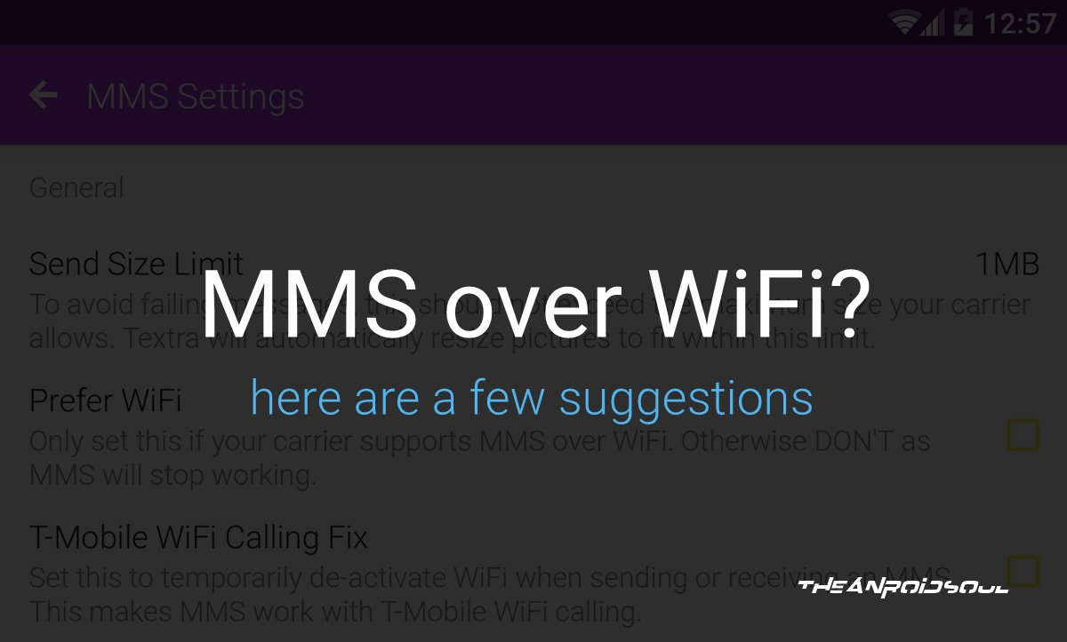 How to Send and Receive MMS over WiFi