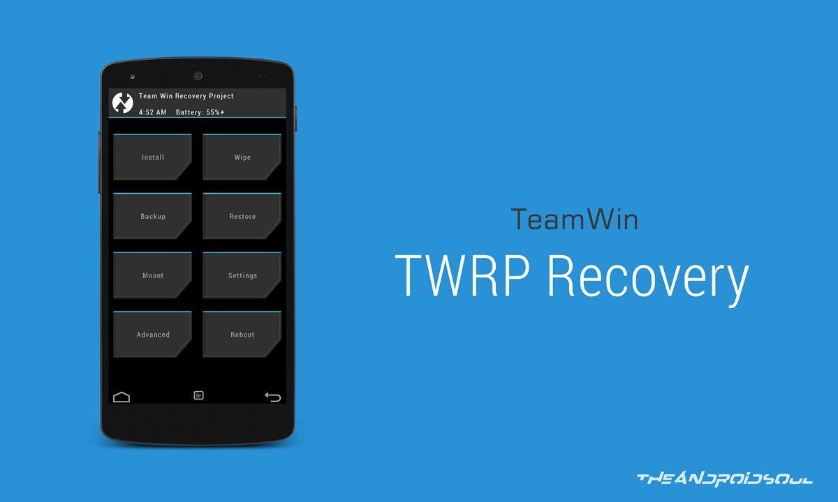 recovery инструкция twrp 3.0
