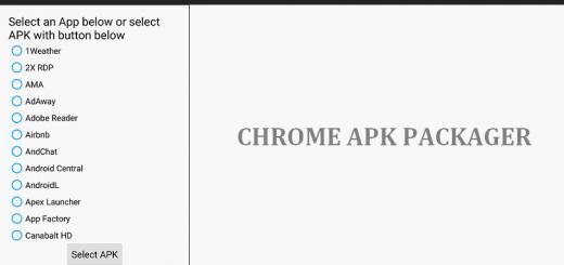 chrome-apk-packager