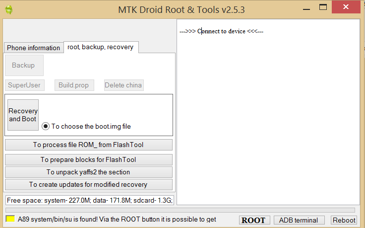 How To Backup Unrooted Stock Rom On Mediatek Devices