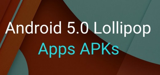 Android 5.0 Lollipop Apps APKs