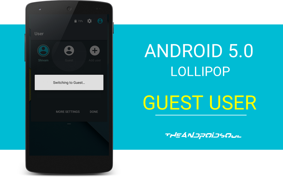Android 5.0 Lollipop Guest User Mode Explained