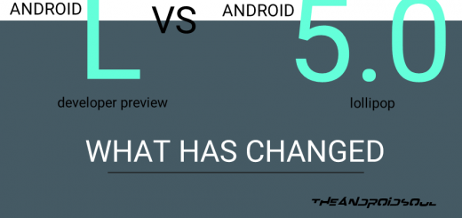 Android L vs Android 5.0 Lollipop - What has changed