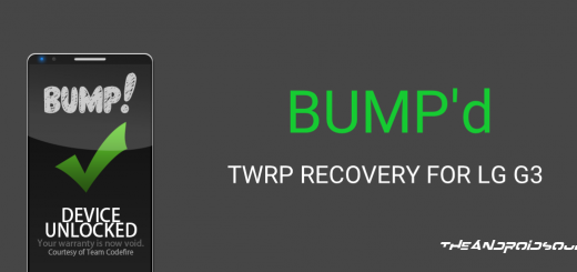Bump TWRP Recovery LG G3