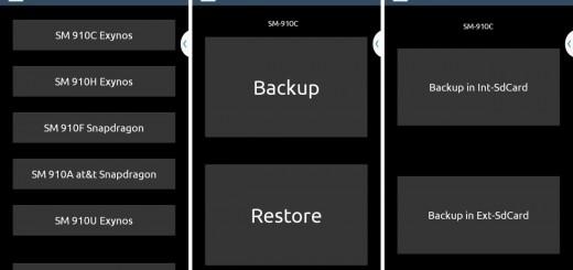 Galaxy Note 4 EFS Backup