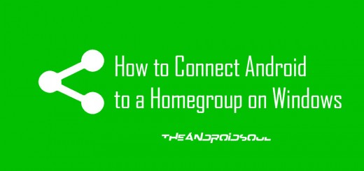 How to Connect Android to a Homegroup on Windows 3