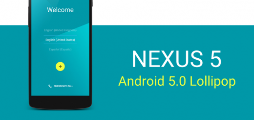 Nexus 5 Android 5.0 Lollipop