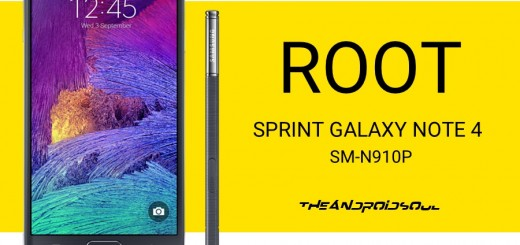 Root Sprint Galaxy Note 4