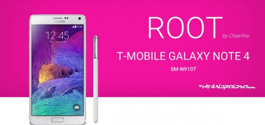 Root T-Mobile Galaxy Note 4 SM-N910T