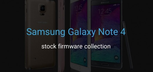 Samsung Galaxy Note 4 Stock Firmware Collection