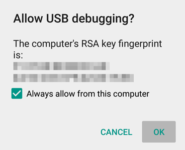 Allow-USB-Debugging