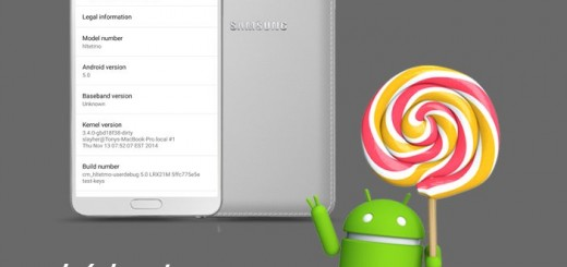 Galaxy Note 3 Android 5.0 Lollipop