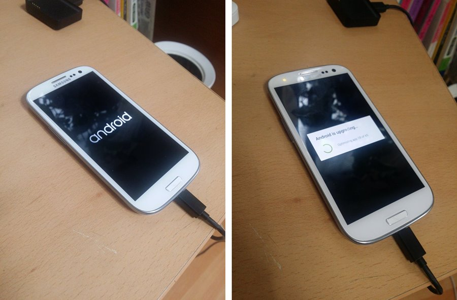 Galaxy S3 Android 5.0 Lollipop Booting