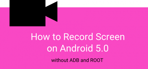 How to Record Screen on Android 5.0