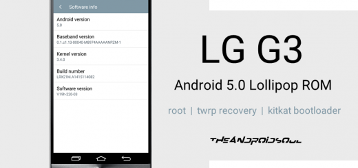 LG G3 Android 5.0 Lollipop ROM with Root