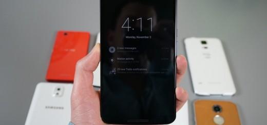 Nexus 6 Ambient Display