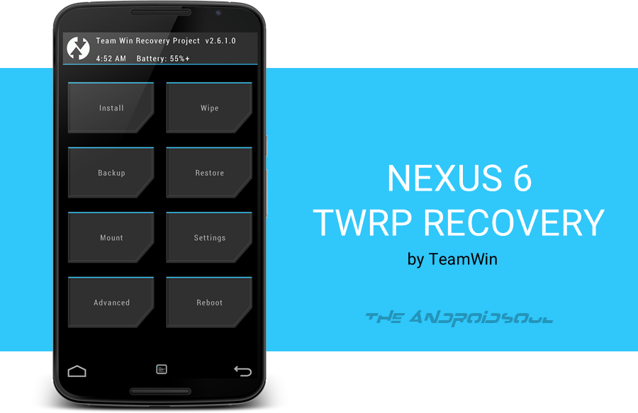 Nexus 6 TWRP Recovery Installation Guide