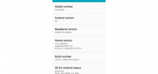 Sprint Galaxy S5 Android 5.0