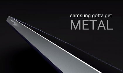 Samsung Gotta get Metal with the GALAXY S6