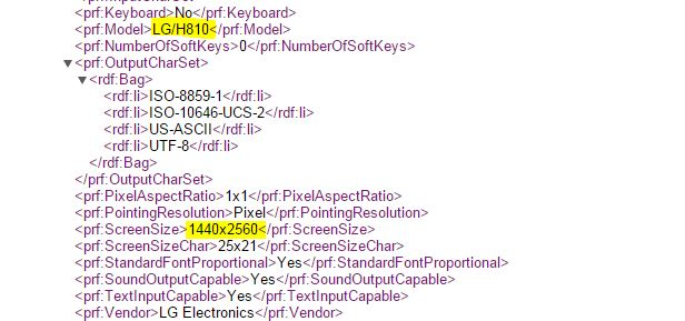 AT&T LG G4 specs LG-H810