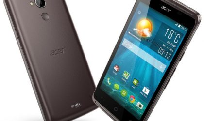 Acer Liquid Z410 with 64-bit SoC and front-facing speakers announced at CES 2015