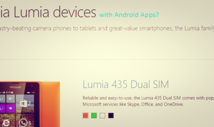 Your favorite Android apps could soon run on your favorite Lumia phone!