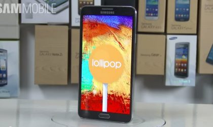 Samsung Galaxy Note 3 Android 5.0 Lollipop update rolling out now in Russia