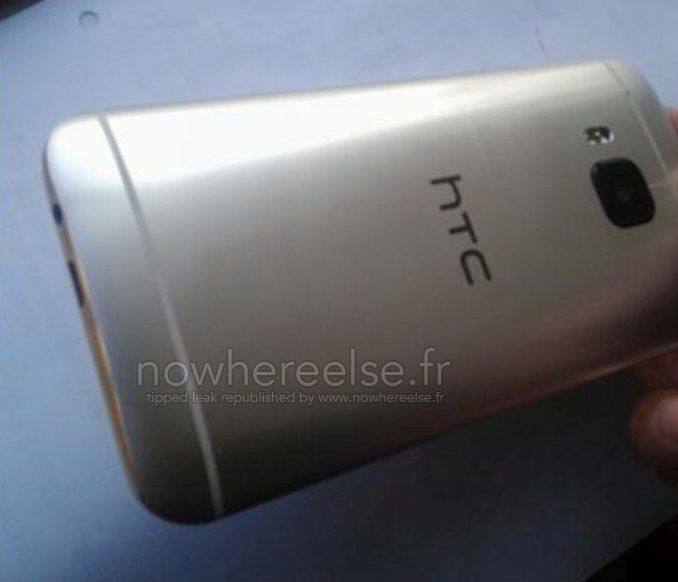 HTC Hima One M9 Back Picture