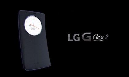 LG G Flex 2 Quick Circle Folio Case Shown in Video
