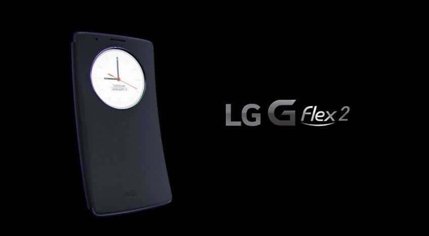 LG G Flex 2 Quick Circle Folio Case