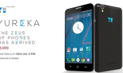 2nd Yureka Flash Sale at Amazon coming up on Jan 22, 2 PM