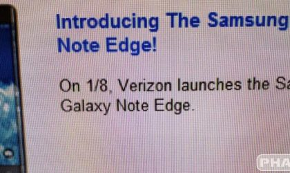 Verizon Galaxy Note Edge Release Date and Price Leaked