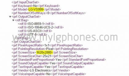 LG G4 Specs might include a 3K display, screams 601PPI!