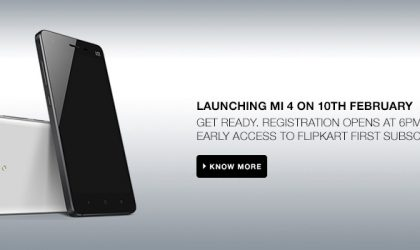 Flipkart First privilege can get you Xioami Mi4 before all others