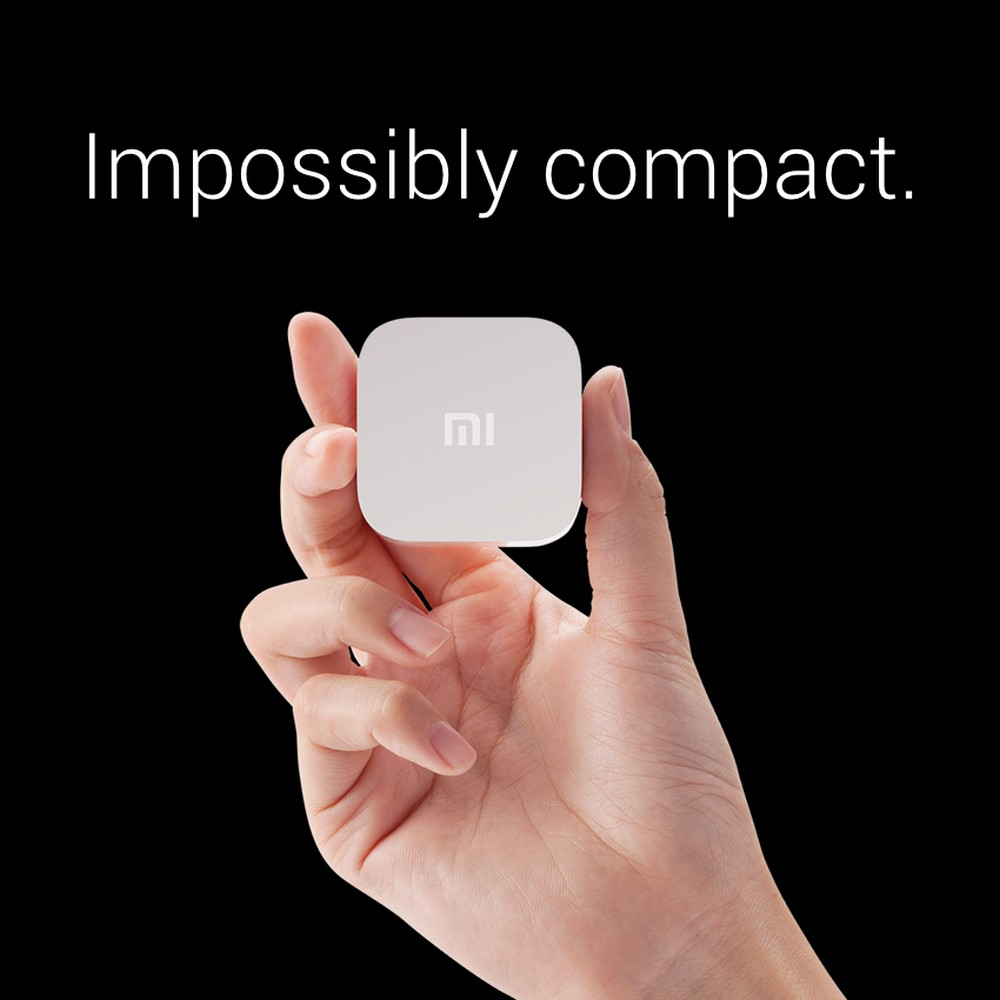Xiaomi mi Box Mini Compact Design