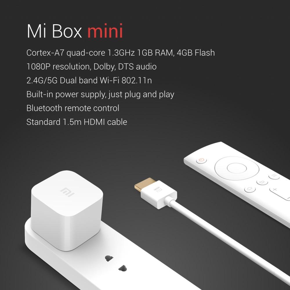 Xiaomi mi Box Mini Specs