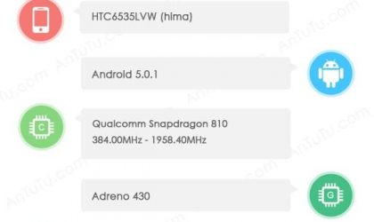 HTC Hima Specs almost confirmed! [One M9]