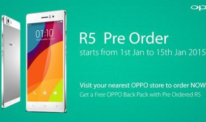 Why Buy Oppo R5, as pre-order begin?