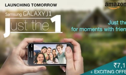 Samsung still playing stupid, launching Galaxy J1 for INR 7,190 ($115) in India tomorrow