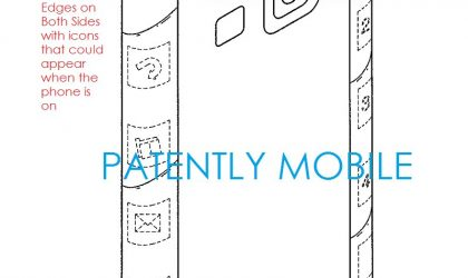Galaxy S Edge could be based on this Samsung patent