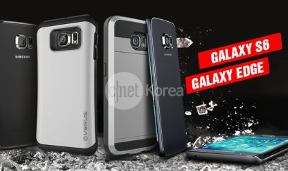Samsung Galaxy S6 and Galaxy Edge with dual-edge leaks in picture