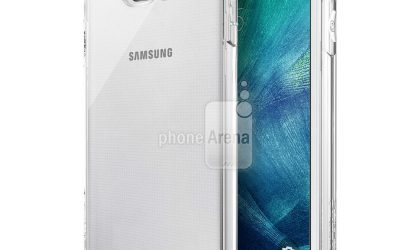 Realistic Galaxy S6 rendering in actual dimensions leaked, wears Verus cases