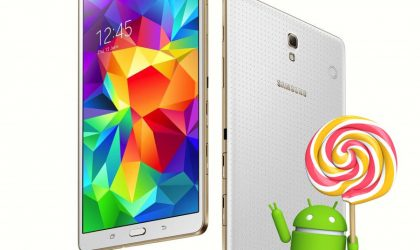 Samsung Galaxy Tab S Android 5.0 Lollipop update might take a couple of months more