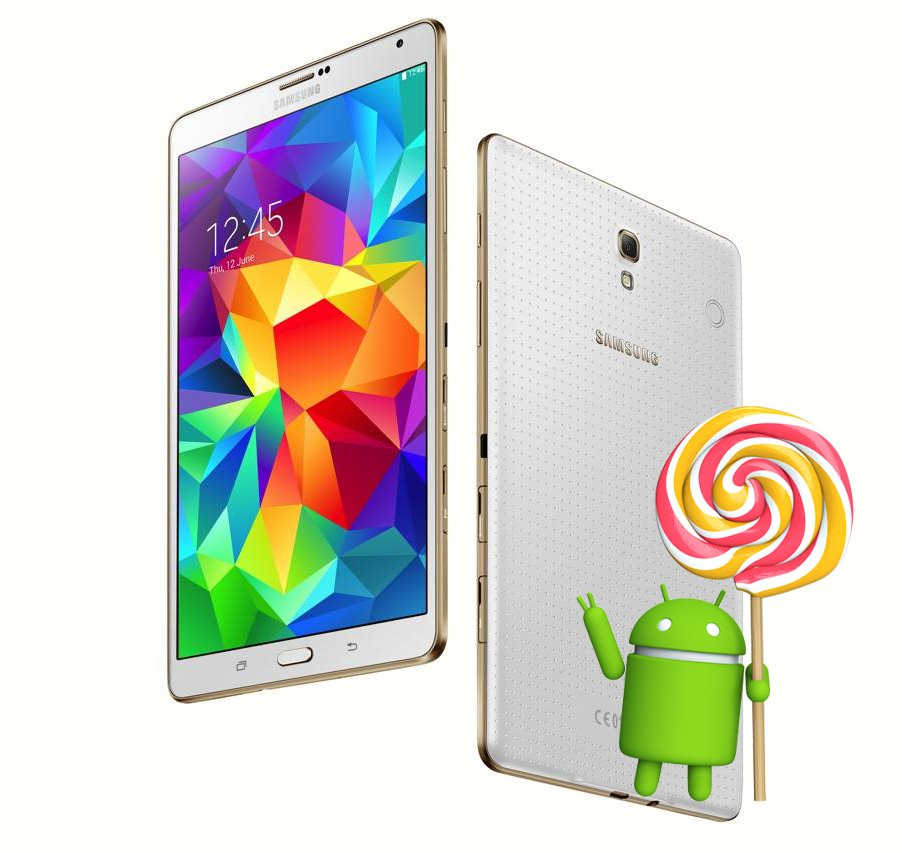 Galaxy Tab S Lollipop