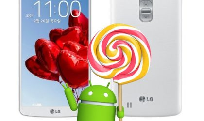 LG G Pro 2 Android 5.0.1 Lollipop OTA rolling out in Europe